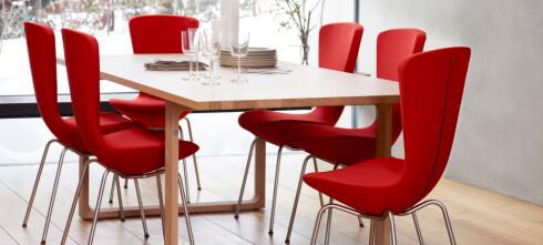 Bevegelige spisestuestoler redder middagen