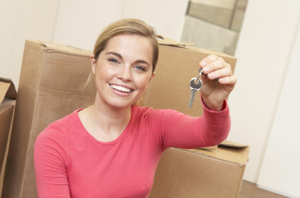 Det er kanskje ikke like lett som for ti år siden, men det lar seg gjøre for de aller fleste å kjøpe egen bolig. Foto: Colourbox.com