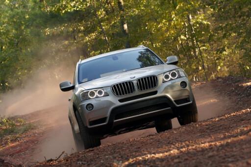 SUSER AVGÅRDE: BMW X3 er en vinner så langt i år. Med 555 registrerte eksemplarer leder den an i premium-segmentet