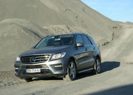 Nye Mercedes M-klasse gjør det også bra. 207 biler registrert på bare tre måneder i 2012. Nordmenn kjøper millionbiler som aldri før Foto: Knut Moberg
