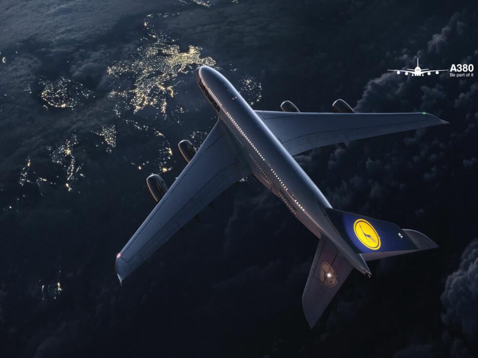 Lufthahsas A380-fly ble levert i slutten av mai 2010. Foto: Lufthansa