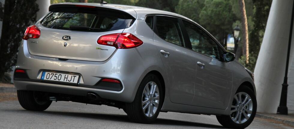 Kia Ceed kommer i mai, og skal utfordre klassens to mest solgte biler.