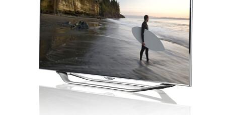 Samsungs TV-nyheter i butikken