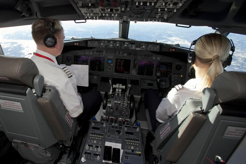 NYE ARBEIDSTIDER: Nye EU-regler kan gi norske piloter lengre arbeidstid. Foto: Per Ervland