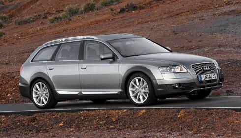 Slik ser utgående A6 allroad quattro ut. Som vi ser, ikke håpøst utdatert, bare subtilt utdatert. Foto: Audi