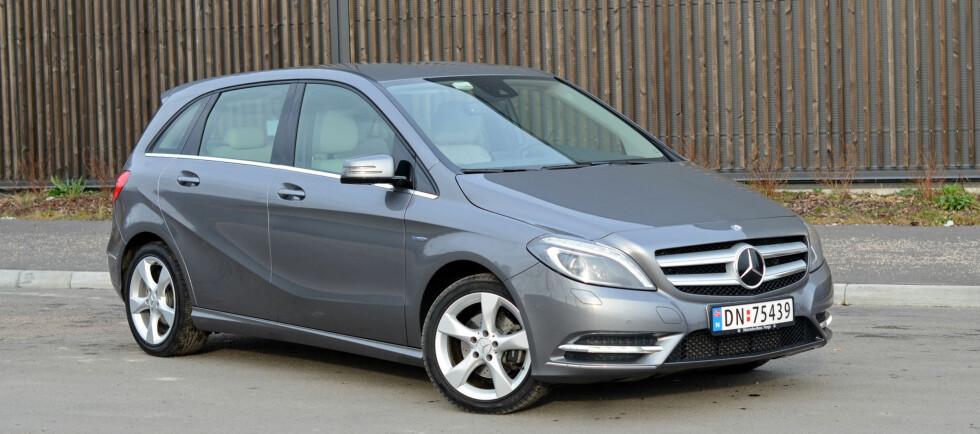 B-klasse kan være et alternativ også til større Mercedes-modeller Foto: Cato Steinsvåg