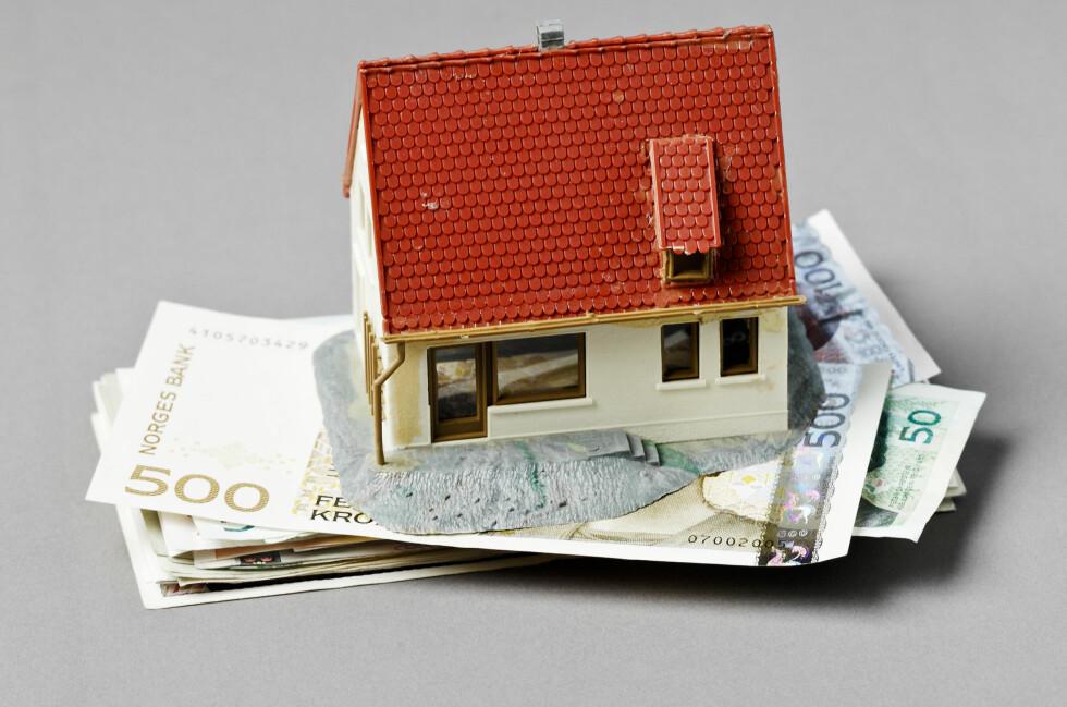 Har du litt til overs, lønner det seg å krympe boliglånet nå. Foto: Colourbox.com