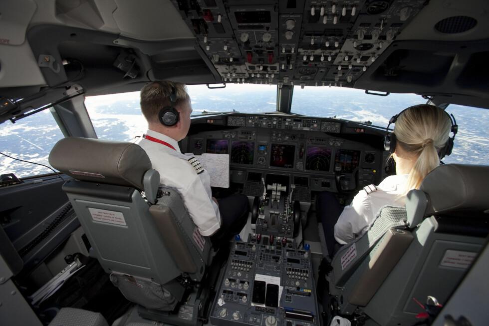 ULIKE RETTER: Co-piloter kan ikke spise den samme flymaten på lange flyturer.  Foto: Per Ervland
