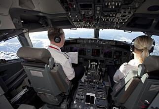 Piloter må spise ulik mat