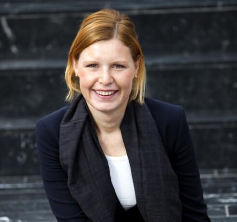 Christine Warloe i Nordea vil anbefale alle å benytte de lave rentene til å betale ned ekstra på lånet. Som om du hadde serielån.  Foto: Nordea
