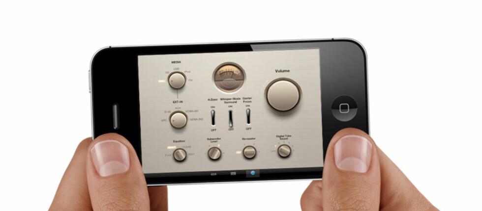 <strong>Skal en mobil-app som styrer anlegget ditt bli brukt må den:</strong> Virke, se bra ut, og gi deg økt funksjonalitet. Det har Panasonic klart her. Foto: Øyvind P