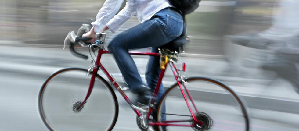 TRÅKK PÅ: Gjør du de typiske syklistfeilene? Foto: Colourbox