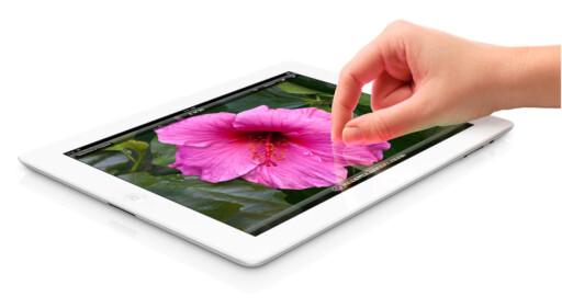 INGEN 4G: Nye iPad 3 har 4G-muligheter, men fungerer bare i USA og Canada.  Foto: Apple
