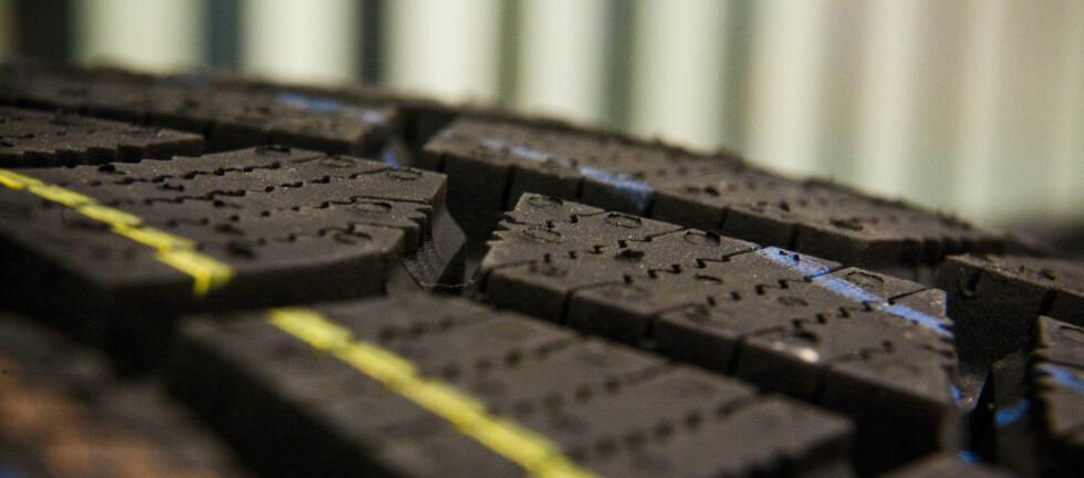 Den nye dekkmerkingen kan fortelle deg mye om dekkets egenskaper.  Foto: Per Ervland