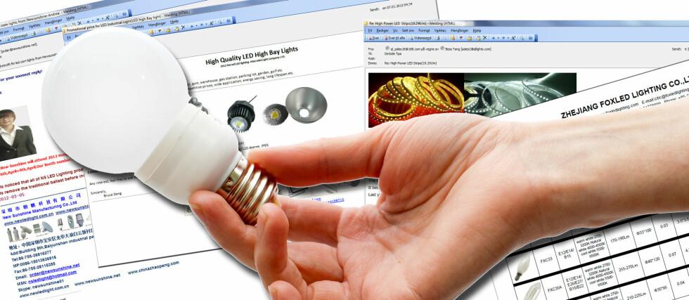 LED-lyspærer: Det er mange useriøse aktører på LED-lysmarkedet. Hvordan kan du vite at du kjøper et bra produkt? Her får du noen svar. Foto: Colourbox/skjermdump/Kristin Sørdal