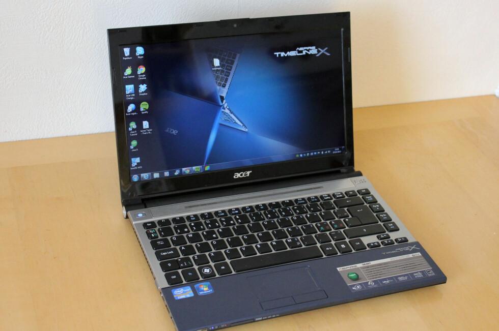 Acer Timeline X 3830T er et meget klokt alternativ til de noe lettere ultrabookene. Foto: Bjørn Eirik Loftås