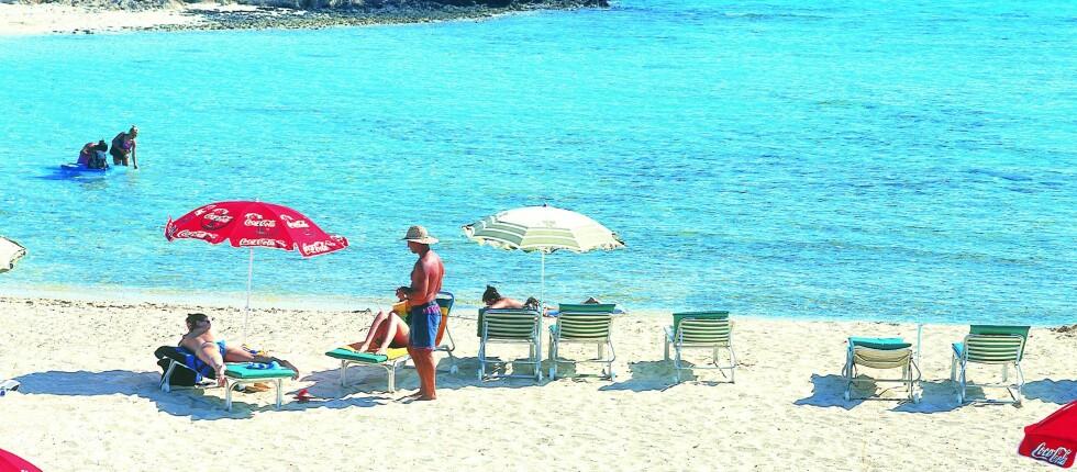 Ayia Napa vinner heder som årets beste strand i Europa igjen. Foto: Visit Cyprus