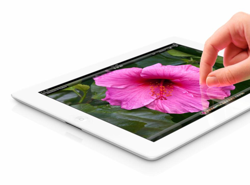 SLIK SER DEN UT: I kveld presenterte Apple nye iPad, den tredje i rekken. Foto: Apple