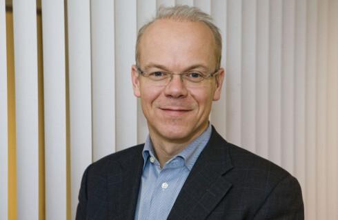 VET IKKE: Googles norgesdirektør Jan Grønbech vet ikke når hele Google Play blir tilgjengelig i Norge.  Foto: Per Ervland