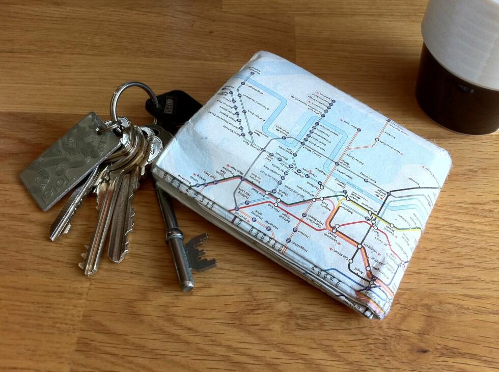 ET KART? Neida. Det er egentlig en lommebok. Foto: Per Ervland