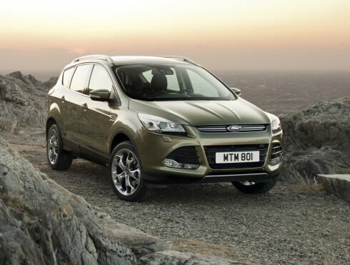Dette er helt nye Ford Kuga. Den får også première i Genève. Foto: Ford
