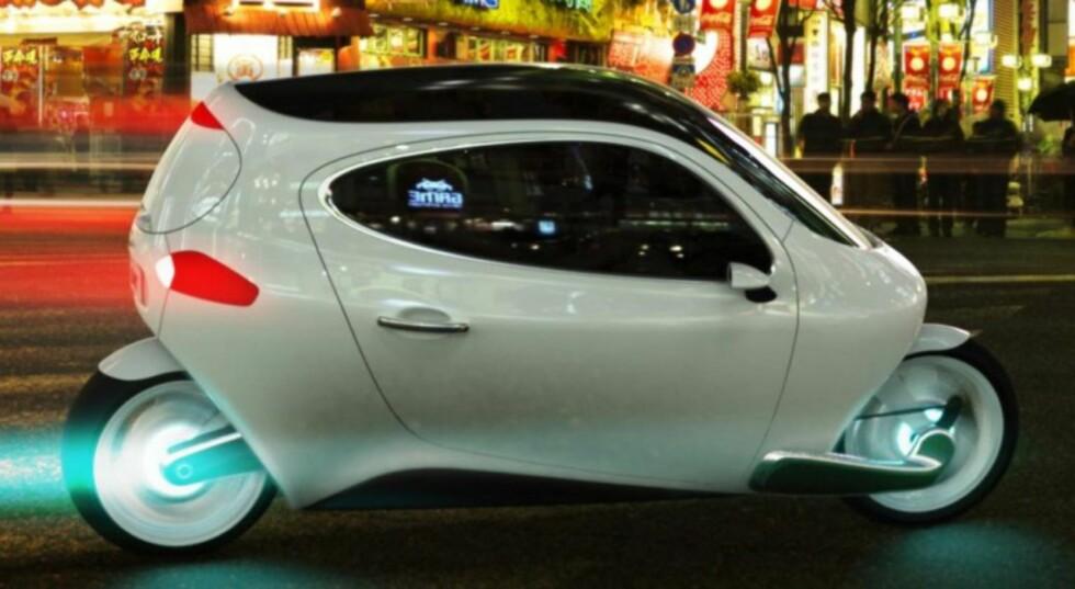 Det perfekte bykjøretøyet? Foto: Lit Motors
