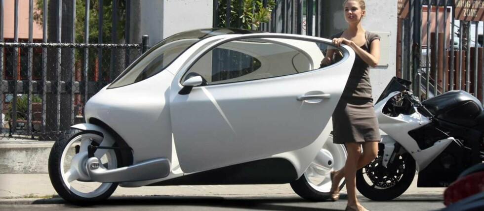 NYTT PÅ VEIEN: C-1 vil revolusjonere måten vi transporterer oss på i storbyene, mener Lit Motors. Foto: Lit Motors