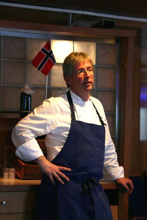 Stena Line har en egen Brimi-meny, utarbeidet av skipets kokker i samarbeide med Arne Brimi. Foto:  Sebastian Berg Hestvedt