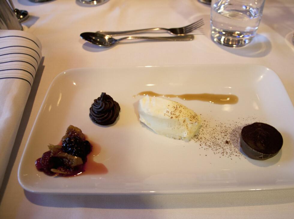 Dessert for sjokoladeelskerne! Foto:  Sebastian Berg Hestvedt