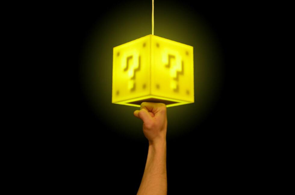 Coin Lamp er berøringsfølsoom, så du kan slå den av og på ved å berøre undersiden. Foto: Produsenten