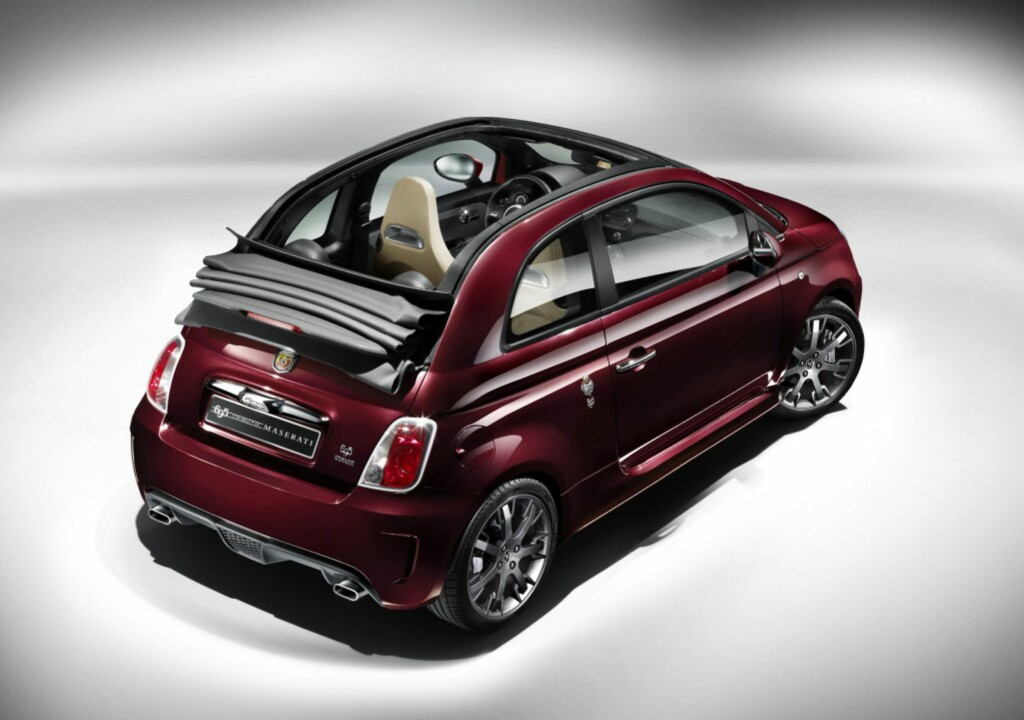 image: Fiat 500 hedrer Maserati