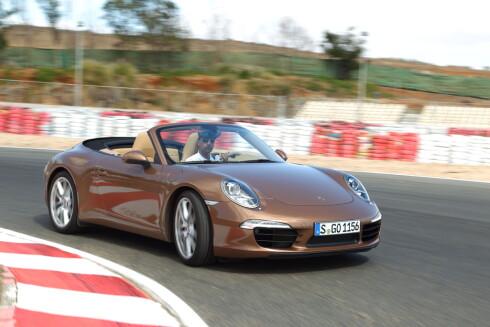 PRØVEKJØRT: Porsche 911 Cabriolet
