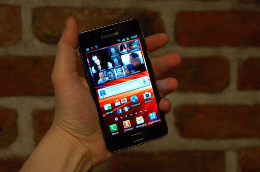 HAR SUPER AMOLED PLUS: Samsung Galaxy SII.  Foto: Pål Joakim Olsen