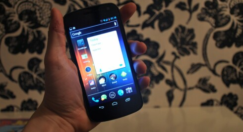 <strong>HAR 720P HD:</strong> Samsung Galaxy Nexus.  Foto: Pål Joakim Olsen