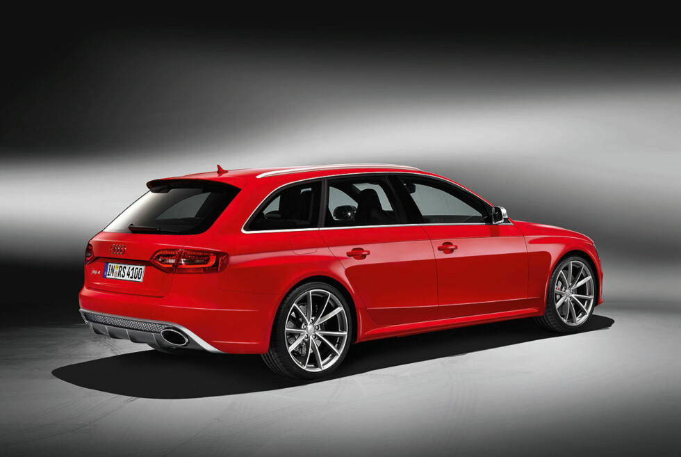 UNDERSTATEMENT: Utvilsomt en Audi, men det er noe svært spesielt med den... Foto: Produsenten