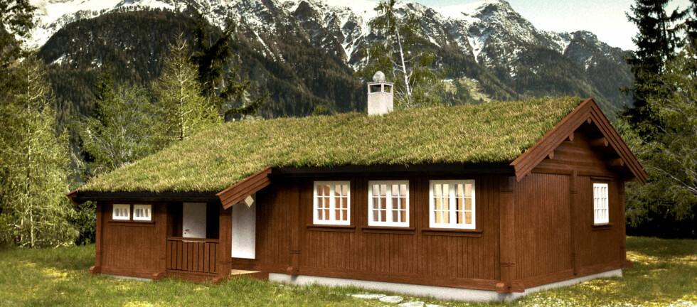 HYTTEKOS: Står hytta mye tom? Lei den ut, da vel! Foto: Rindalshytter