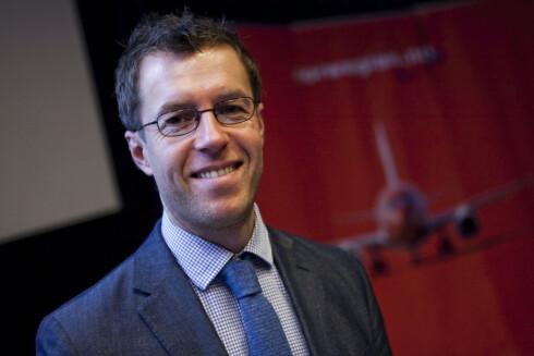Lasse Sandaker-Nielsen er informasjonssjef i Norwegian.  Foto: Per Ervland