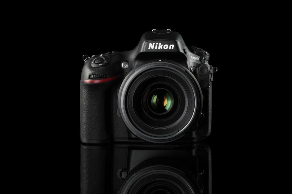 Nikon D800 har en oppløsning utenom det vanlige. Foto: NIkon