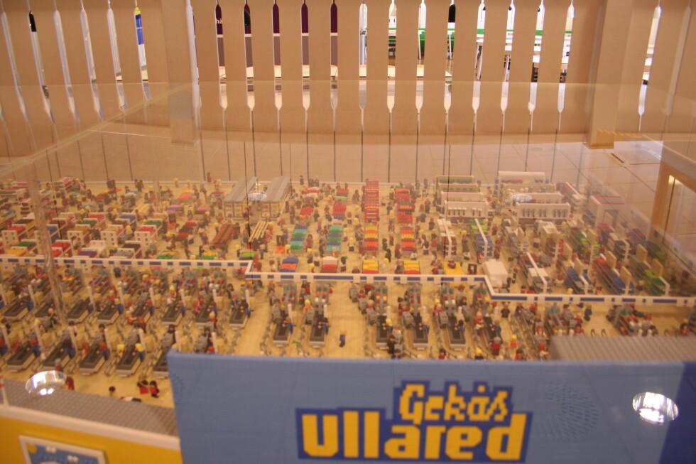 Lego-Gekås er laget som en nøyaktig kopi. Foto: Kristin Sørdal