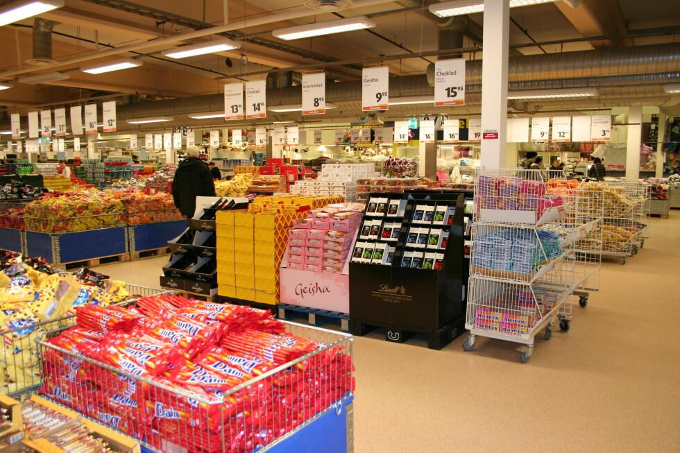 De selger 2.000 tonn godteri i året. Foto: Kristin Sørdal