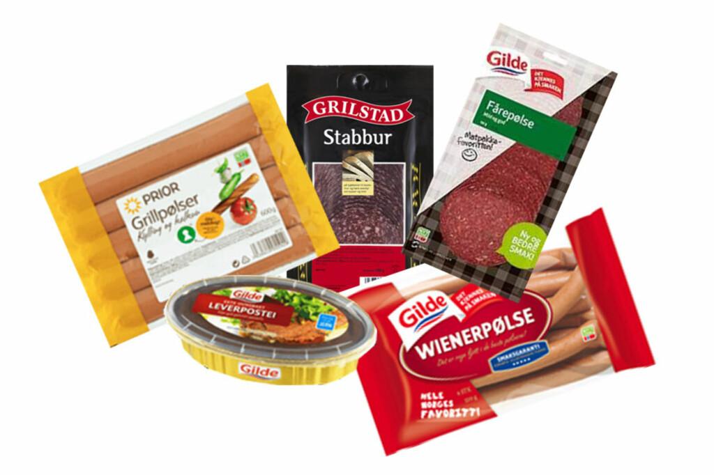 HVERDAGSKOST: I flere godt kjente matvarer finner man, kanskje til noens overraskelse, alt fra hestekjøtt til oksehjerte blant ingrediensene. Foto: BERIT B. NJARGA