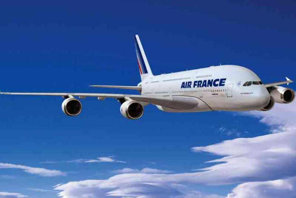 Air France ønsker å nå ut til alle sine kunder i forkant av streiken. Foto: Air France