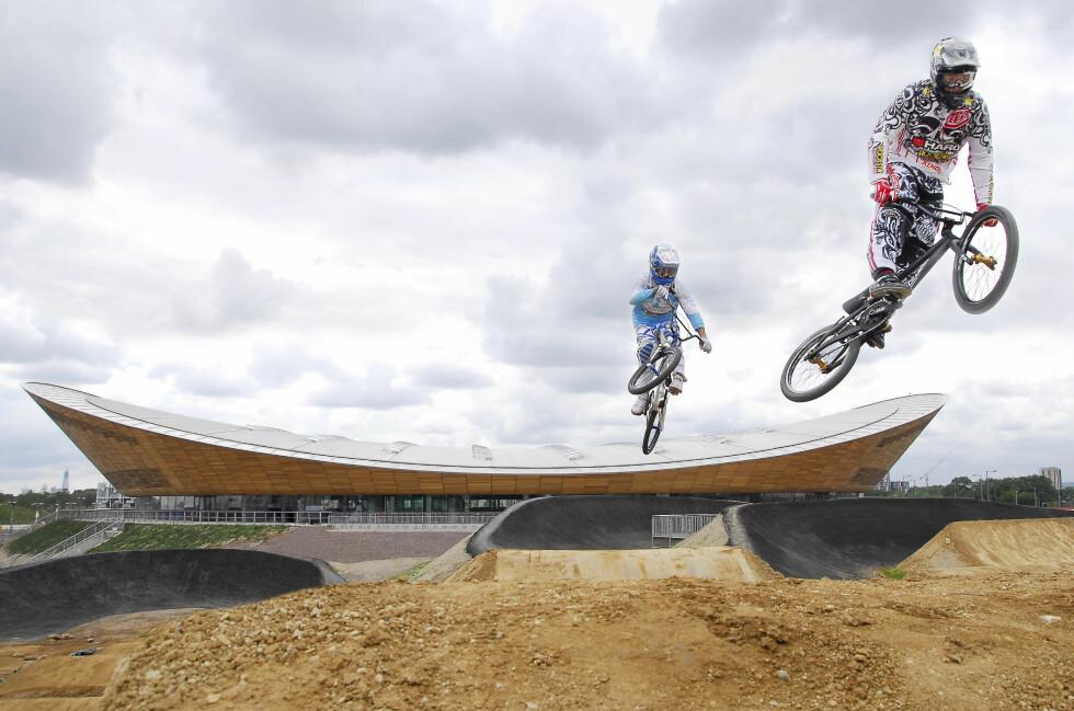 POPULÆRT: Billettene begynner allerede å bli utsolgt til OL i London. Men vil du få med deg for eksempel BMX-konkurransene, bør du unngå svartebørsen.  Foto: London 2012
