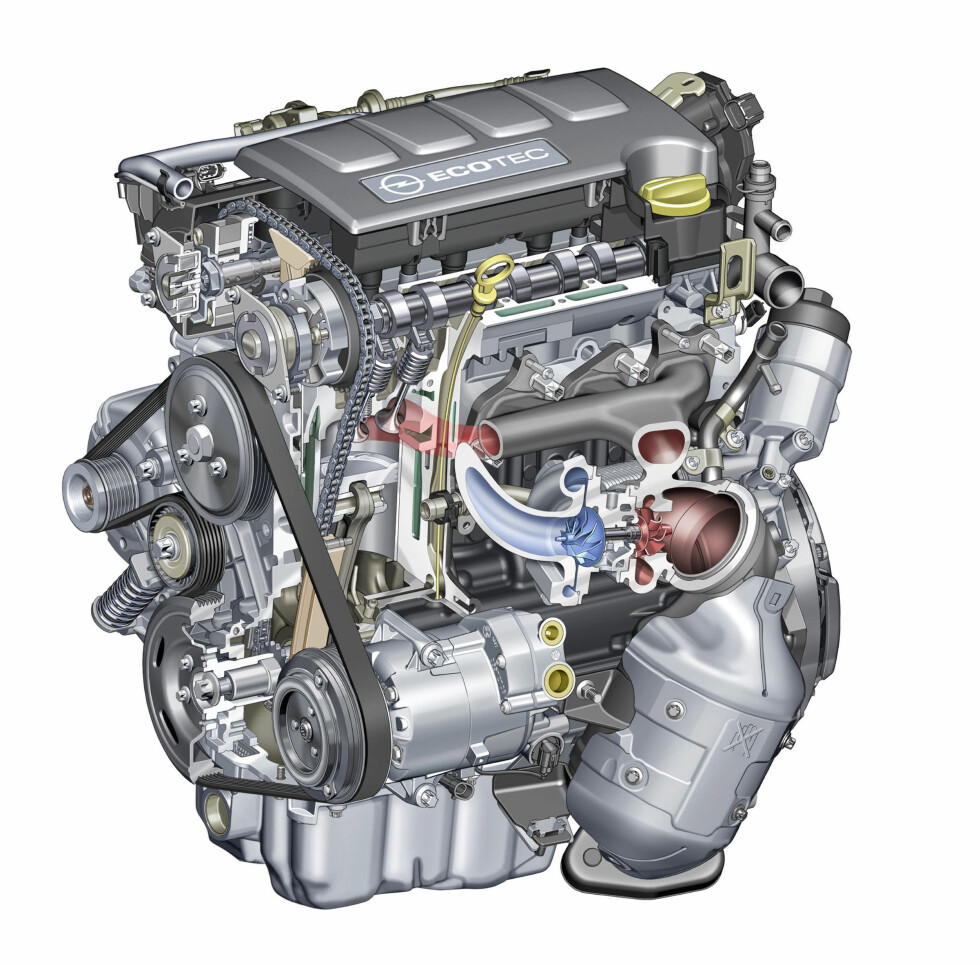 Motoren: 1.4 Ecotec med turbo