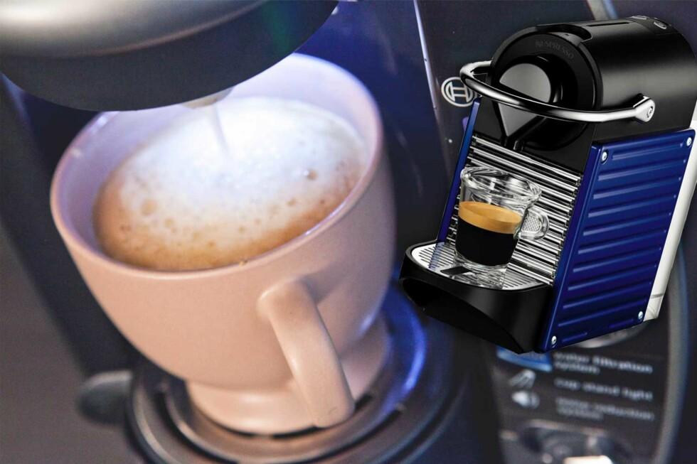 Tenk gjennom egne kaffevaner før du velger kaffemaskin.  Foto: Per Ervland/Produsenten