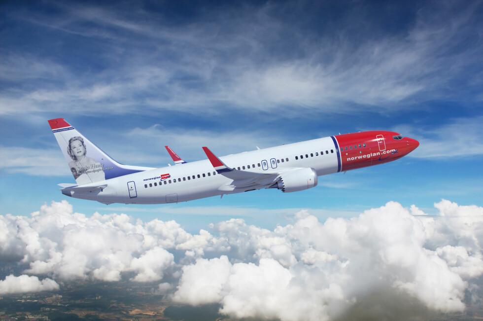 FØRST I EUROPA: Norwegian blir først i Europa som er ute med Boeing 737 MAX8. Den er ventet i 2017. Foto: Boeing