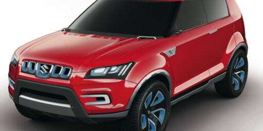 image: Suzuki med ny SUV