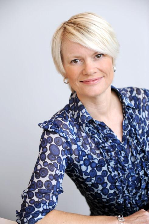 <strong>LEI:</strong> Kommunikasjonssjef Heidi Egede-Nissen i Ventelo mener det er Telenors feil at deres kunder sliter med å dele internett.  Foto: Ventelo