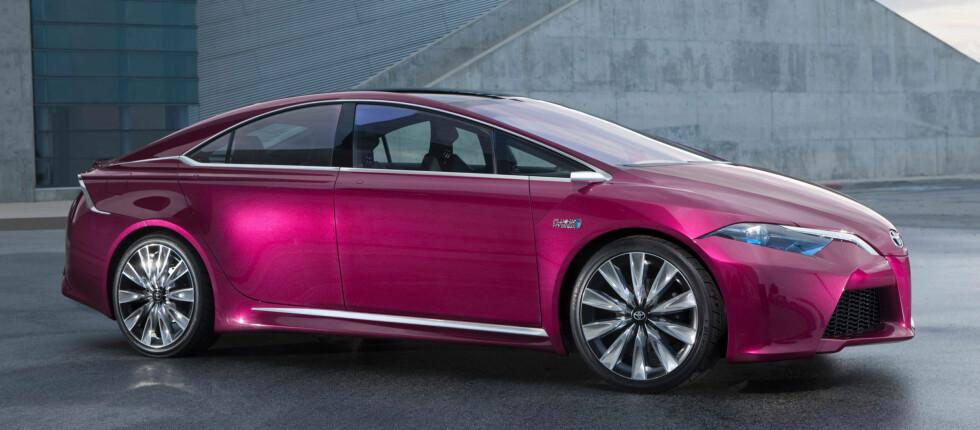 NS4 representerer Toyotas tanker om hvordan neste generasjons hybridbil kan være Foto: Toyota