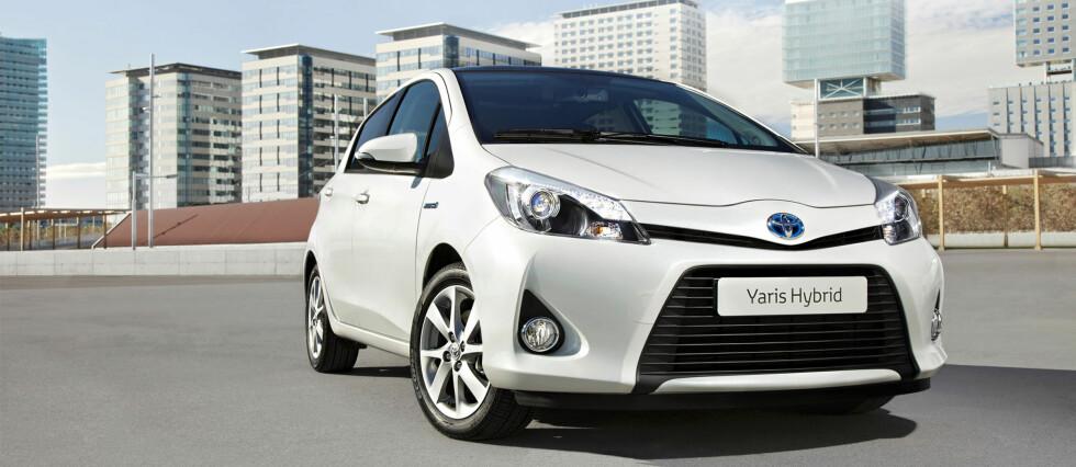 Yaris hybrid blir en spennende småbil som etter alt å dømme setter CO2-rekord i klassen Foto: Toyota